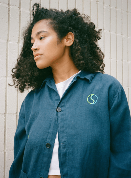 Modern Society Peace and Love One-Of-A-Kind Jacket TOPS
