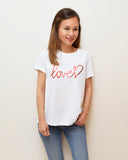 Camiseta love rojo