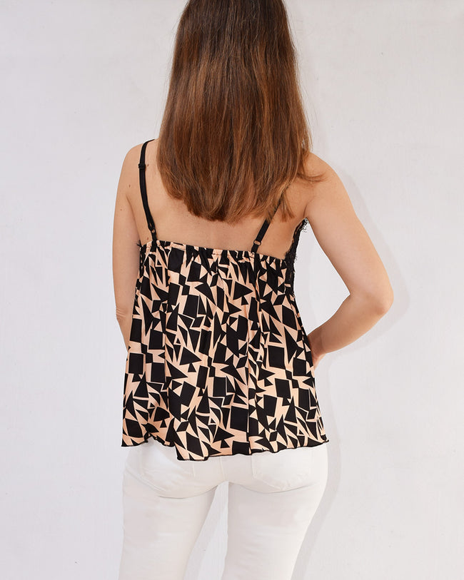 Top Lencero Estampado