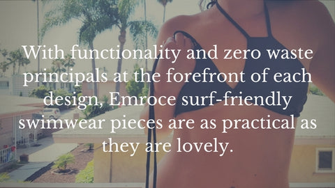 emroce zero waste bikini top featured by ecogirlshop