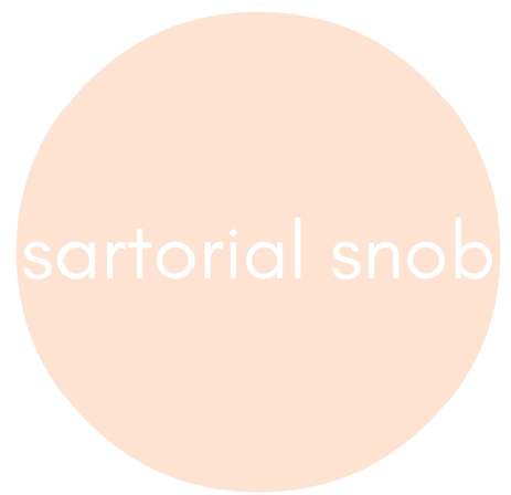 sartorial snob logo - interview with emma churchill of emroce