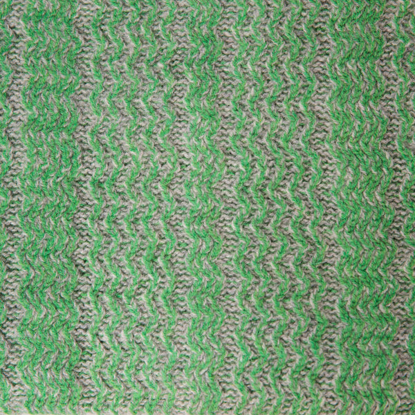 Vintage Green Chunky Short Snood - 100% British lambswool