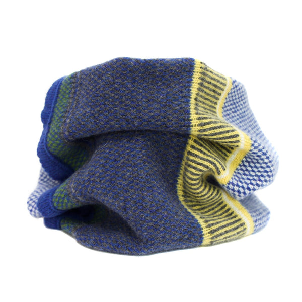 lambswool Bluetit Neck Cowl