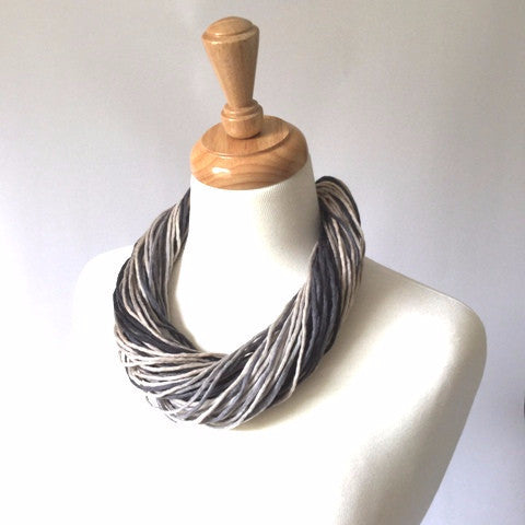 Merino Wool necklace