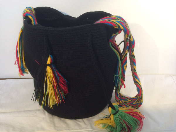 Sac bag mochila unicolor noir