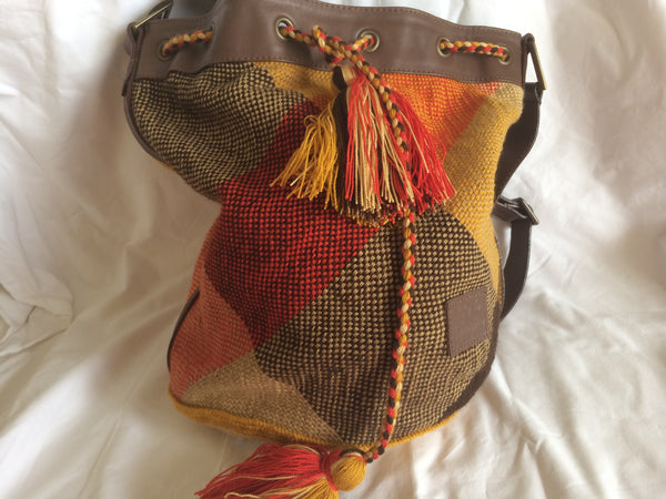 Sac bag mochila et cuir multicolor