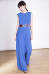 The Philippa Jumpsuit - Jumpsuit With Palazzo Pants  - open back - Lauren Lynn London