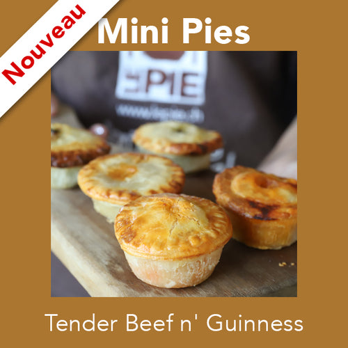 Mini Tender Beef n' Guinness <br>Mini Pies
