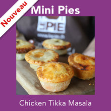 Mini Chicken Tikka Masala <br>Mini Pies