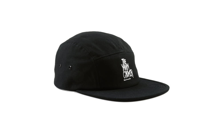 Authentic 3-Way Logo 5 Panel Hat/Black - TheYawnChoker
