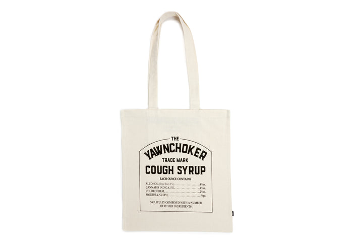 Cough Syrup Tote Bag - TheYawnChoker