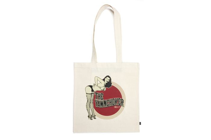 New School Tote Bag - TheYawnChoker