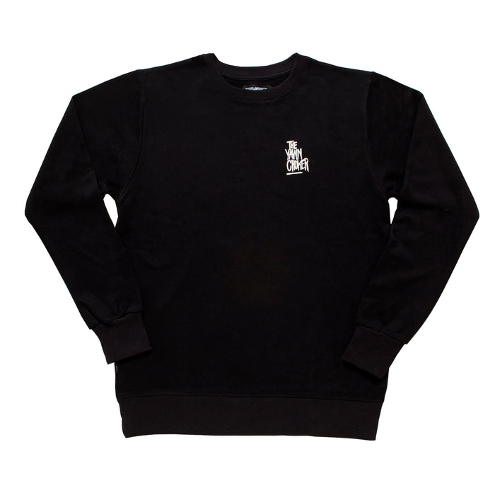Authentic 3-Way Logo Crewneck/Black