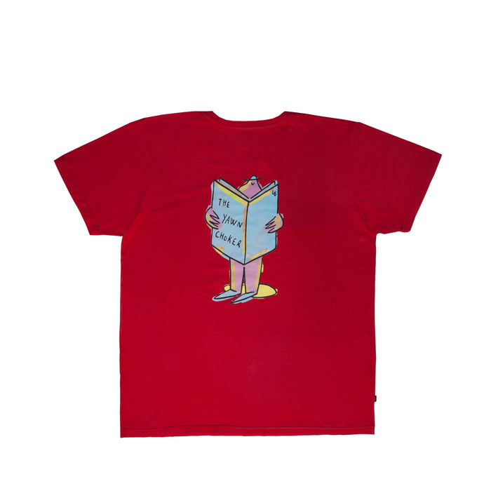 TheYawnChoker X Lucas Beaufort Tee/Red