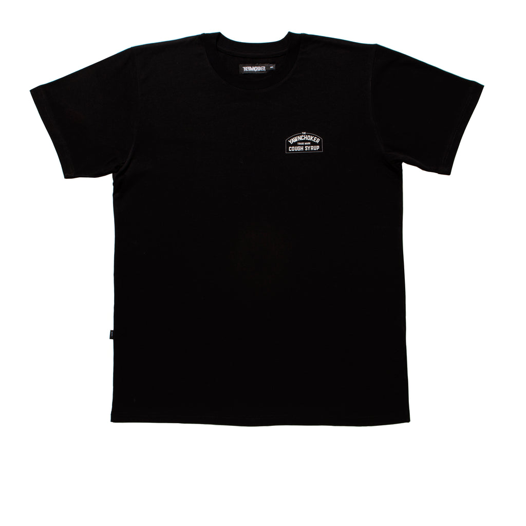 Cough Syrup Tee/Black