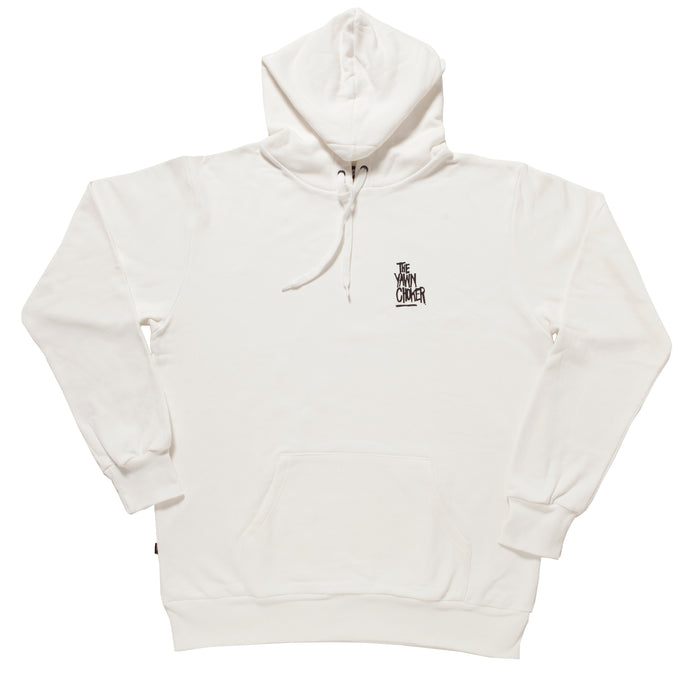 Authentic 3-Way Logo Hoodie/Off White - TheYawnChoker