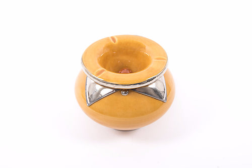 Moroccan Ashtray - Large size - Yellow
