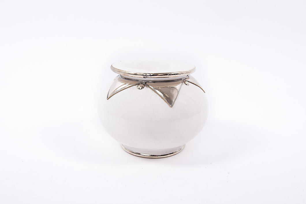 Moroccan Ashtray - Large size - White