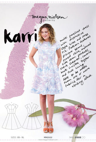 "alt=""Megan Nielsen Karri Dress Pattern"""
