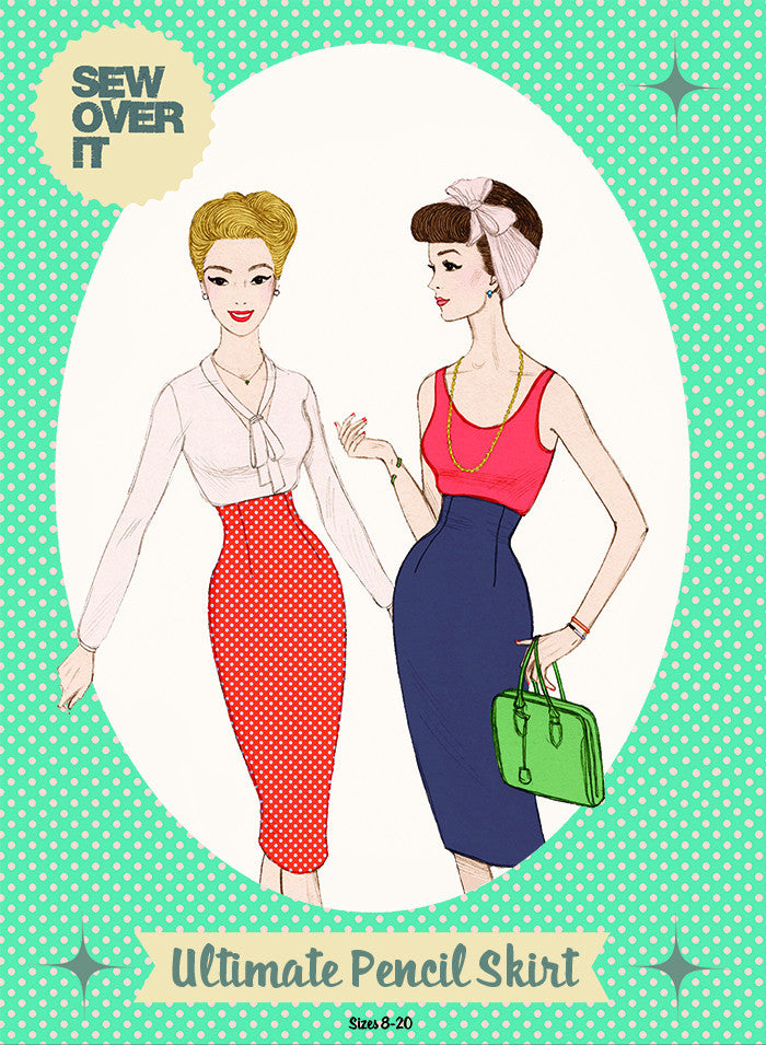 "alt=""Sew Over It Ultimate Pencil Skirt Pattern"""
