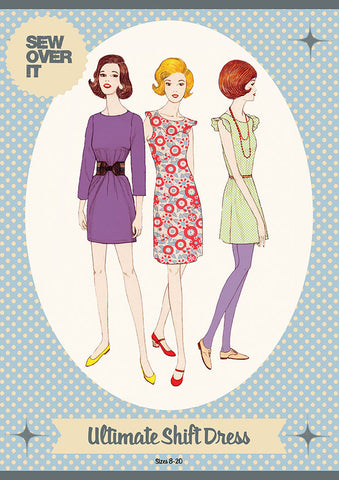 "alt=""Sew Over It Ultimate Shift Dress Pattern"""