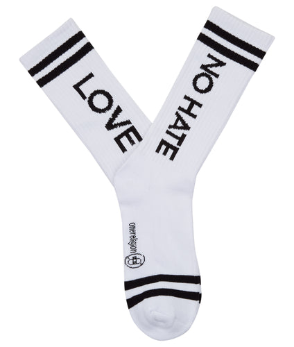 LOVE / NO HATE Socks