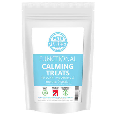 100% Natural Grain Free Calming Premium Treats | 70g