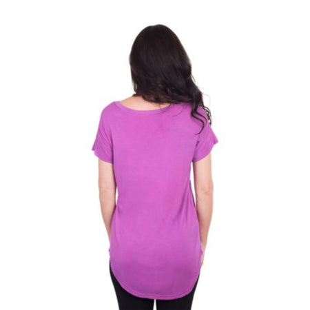 Unique Bargains Women's Asymmetrical Neck One Spaghetti Strap Soft Shirt XS-RivPage.Com-Kenya