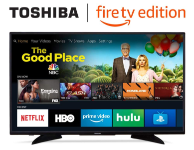 Toshiba 43-inch 4K Ultra HD Smart LED TV with HDR - Fire TV Edition - Quality & Original Product All From USA - RivPage.Com