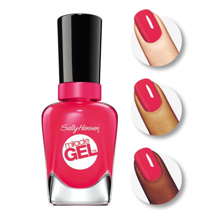 Sally Hansen Miracle Gel Nail Polish, Pink Tank, 0.5 fl oz - Quality Gel Nair from USA - RivPage.Com - Kenya