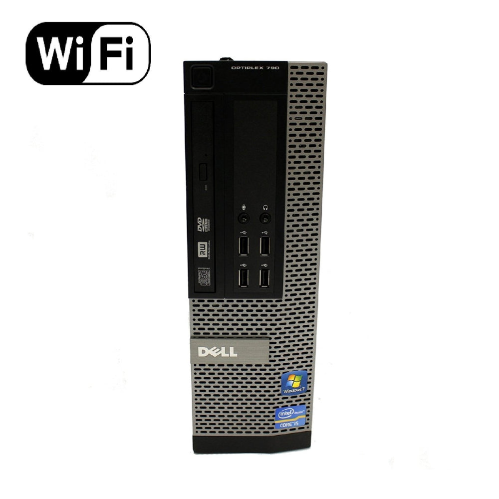 Desktop Computer - Dell OptiPlex, Intel Core i5-2400 3.10 GHz, New 4GB Memory, 500GB HDD, DVDROM, Windows 10 (Certified Refurbished)