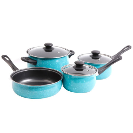 Kitchen Cookware Sets in Kenya - Casselman 7 Piece Non-Stick Stainless Steel Cookware Set - Quality, Original & from USA - RivPage.Com - Kenya