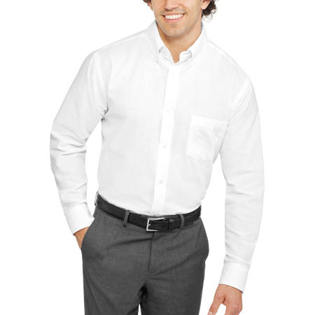 George Men's Long Sleeve Oxford Shirt- Quality & Original Product All From USA - RivPage.Com