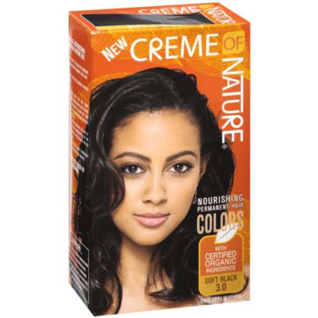 Creme of Nature Permanent Hair Color Soft Black 3.0, 1.0 CT, Quality & Original Product From USA – RivPage.Com