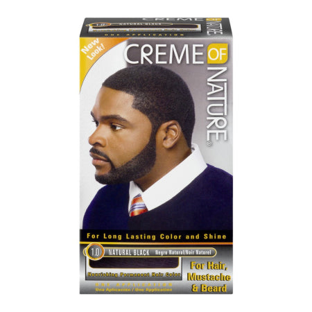 Creme of Nature Permanent Hair Color 1.0 Natural Black, 1.0 CT, Quality & Original product from USA – RivPage.Com