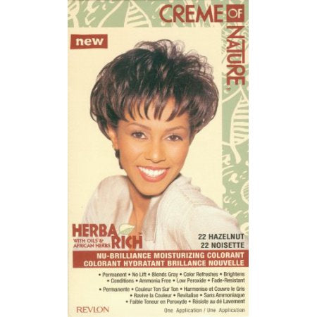 Cream of Nature Hair 22 Hair Color - Hazelnut Kit (Pack of 6), Quality & Original Product From USA – RivPage.Com