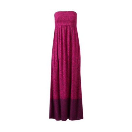 George Women's Bandeau-Style Shirred bodice and back Empire waistline Maxi Dress -RivPage.Com