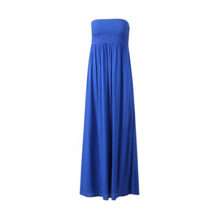 George Women's Bandeau-Style Sleeveless Empire waistline Maxi Dress - RivPage.Com Kenya
