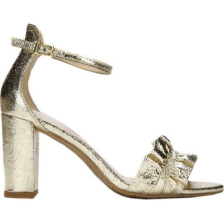 Kenneth Cole Women's Kenneth Cole Reaction Rise Ruffle Heeled Sandal - Quality & Original Product All From USA - RivPage.Com
