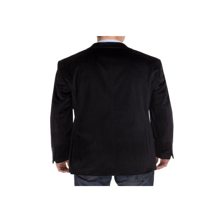 Salvatore Exte Mens Two Button Blazer Modern Fit Velvet Side-Quality & Original Product All From USA - RivPage.Com