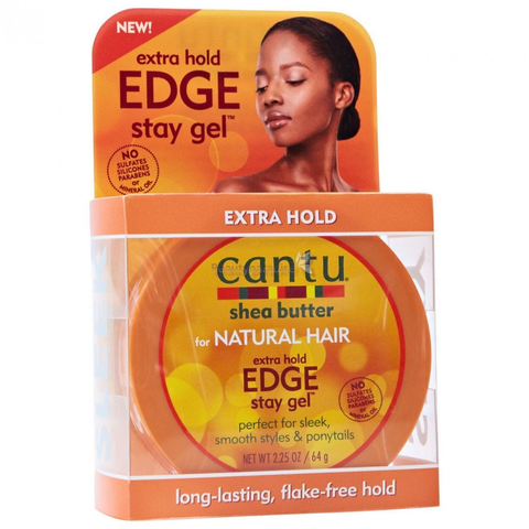 Cantu Shea Butter for Natural Hair Extra Hold Edge Stay Gel, 62.37 grams. All products through RivPage.Com Kenya