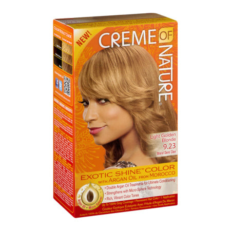 Creme Of Nature Exotic Shine-Color with Argan Oil 273 mL Light Golden Blonde, Quality & Original product from USA – RivPage.Com