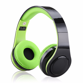 EXCELVAN Folding Wireless Bluetooth LED Stereo Headphones