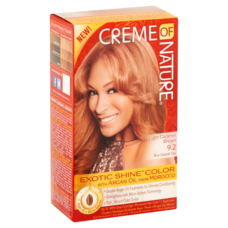 Creme of Nature Light Caramel Brown Permanent Haircolor, Quality & Original Product From USA – RivPage.Com