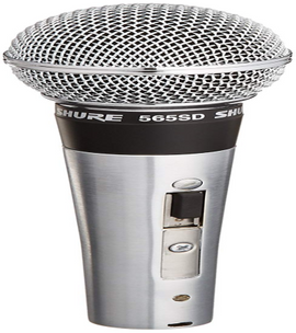 Shure 565SD-LC Microphone without Cable, Silent Magnetic Reed On/Off Switch with Lock-on Option - Quality & Original Product All From USA - RivPage.Com