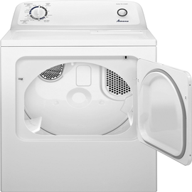 Amana - 6.5 Cu. Ft. 11-Cycle Electric Dryer – White