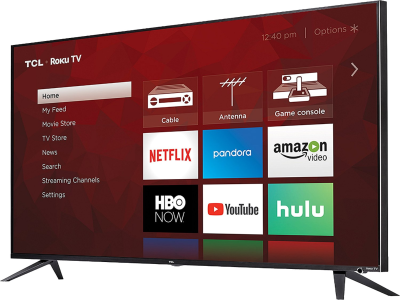 TCL 55R617 55-Inch 4K Ultra HD Roku Smart LED TV (2018 Model) - Quality & Original Product All From USA - RivPage.Com