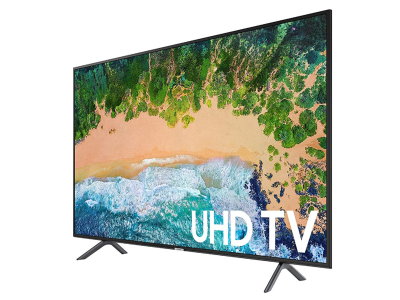 "Samsung 55NU7100 Flat 55"" 4K UHD 7 Series Smart LED TV (2018) - Quality & Original Product All From USA - RivPage.Com"