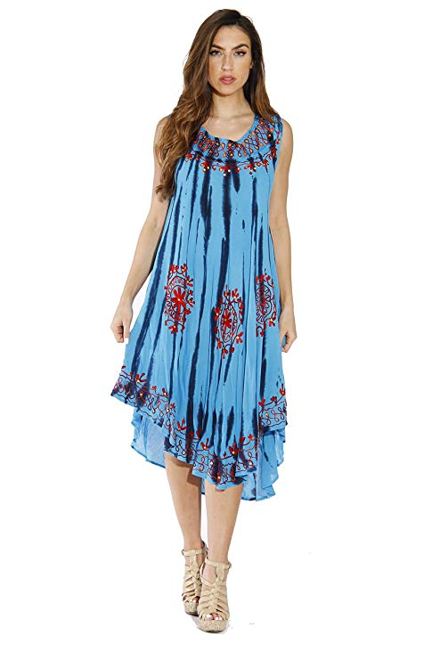 Riviera Sun Dress Summer Dresses for Women lovely mix of color-RivPage.Com-Kenya