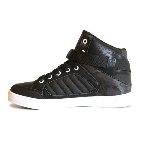 George Ladies Lace up Side Velcro Casual High Top Shoe - RivPage.Com - Kenya